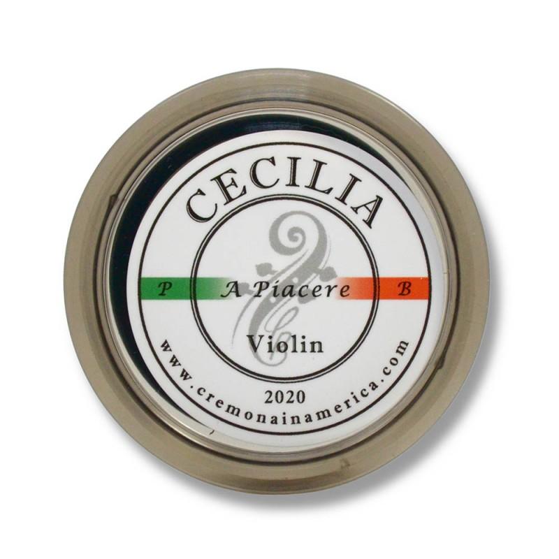 Accesorios - Resina violín Cecilia Rosin A Piacere pequeña