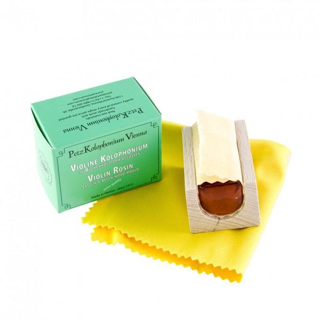 Resina violín/viola Petz Wooden box