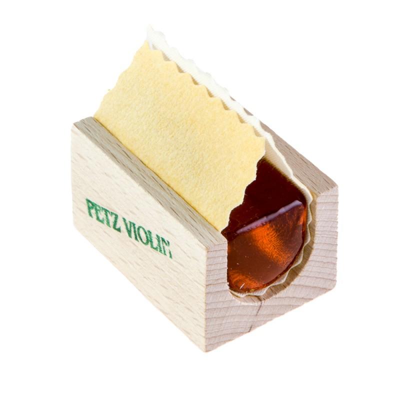 Accesorios - Resina violín/viola Petz Wooden box