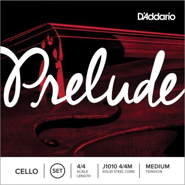 Set de cuerdas cello D'Addario Prelude J1010 Medium