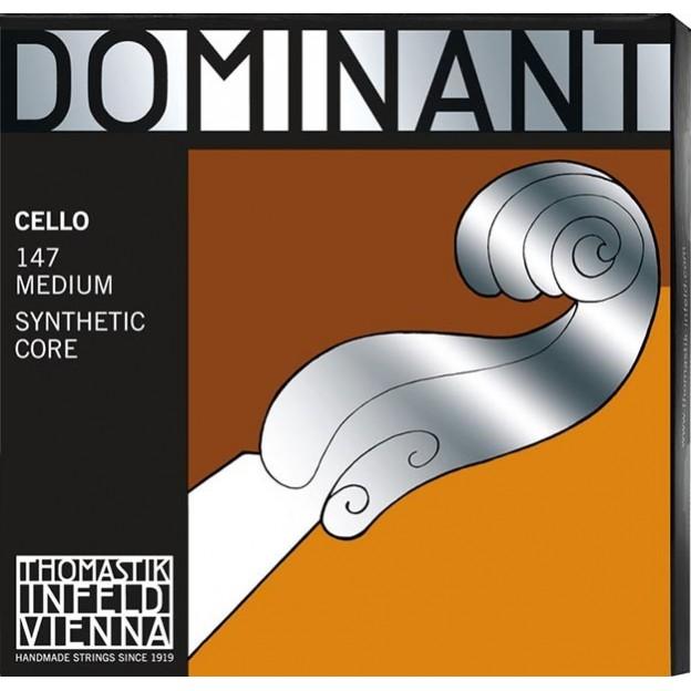 Set de cuerdas cello Thomastik Dominant 147 Medium