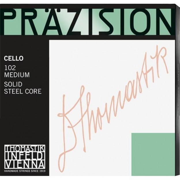Set de cuerdas cello Thomastik Prazision 102 Medium