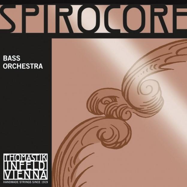 Set de cuerdas contrabajo Thomastik Spirocore Orchestra Light