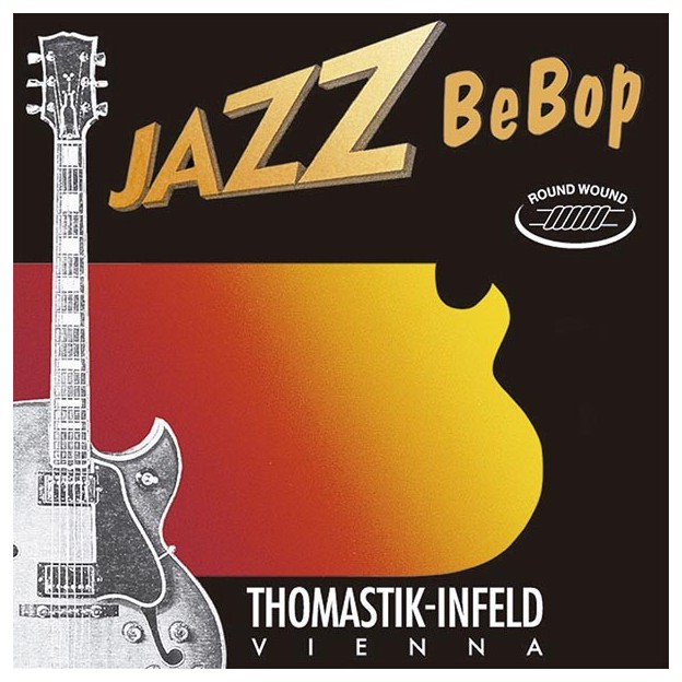 Set de cuerdas guitarra Thomastik Jazz Bebop BB112 light