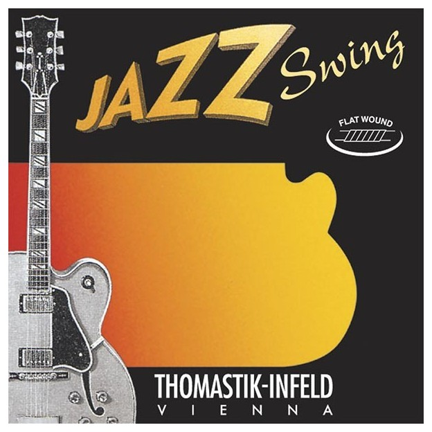 Set de cuerdas guitarra Thomastik Jazz Swing JS110 extra light