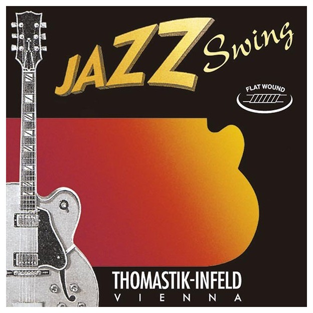Set de cuerdas guitarra Thomastik Jazz Swing JS111 light