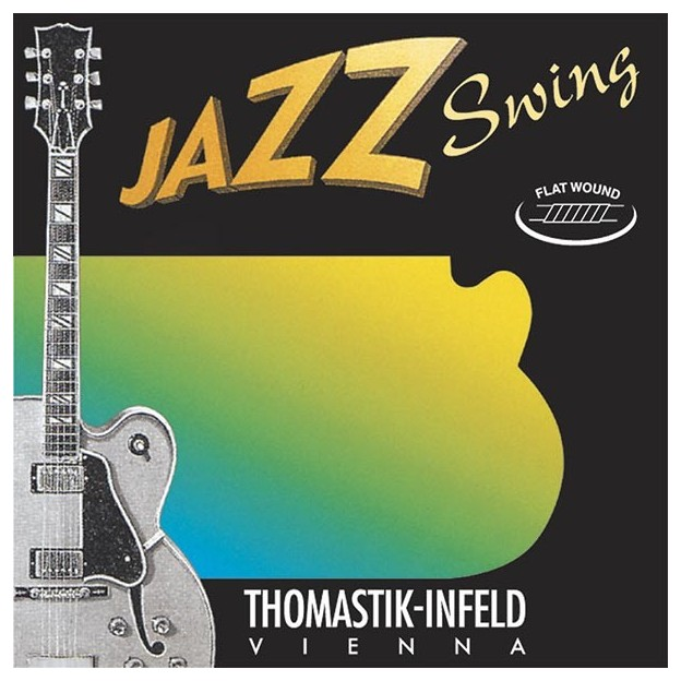 Set de cuerdas guitarra Thomastik Jazz Swing JS112 medium light