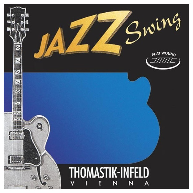 Set de cuerdas guitarra Thomastik Jazz Swing JS113 medium