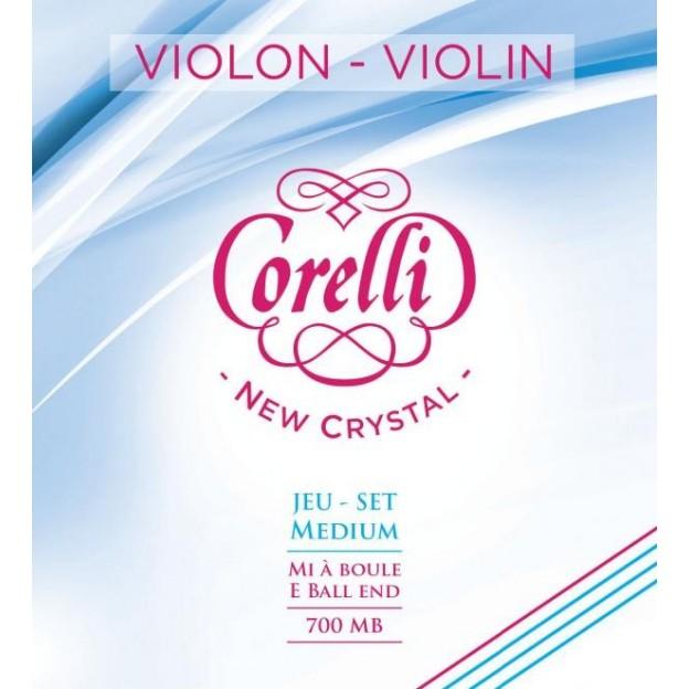 Set de cuerdas violín Corelli Crystal Bola Medium