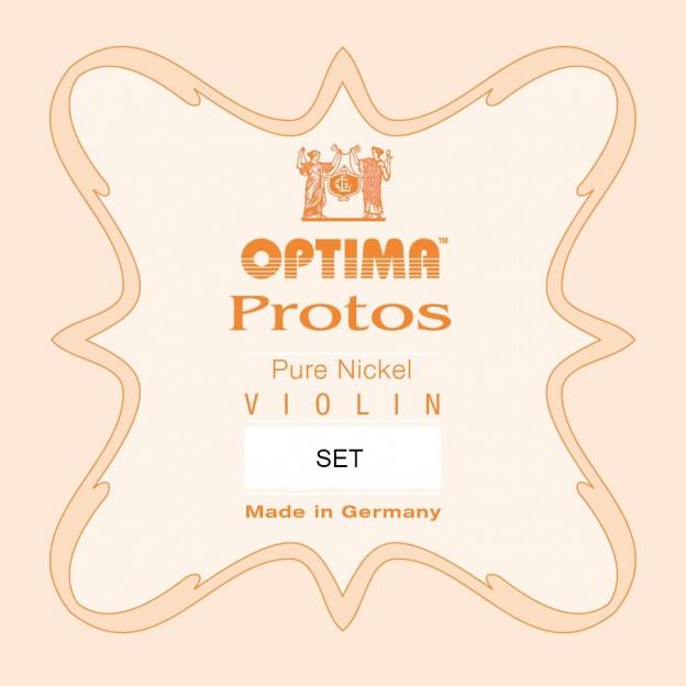 Set de cuerdas violín Optima Protos 1010 Bola Medium