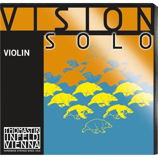 Set de cuerdas violín Thomastik Vision Solo VIS100 Bola Medium