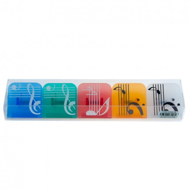 Set pinzas magnéticas musicales