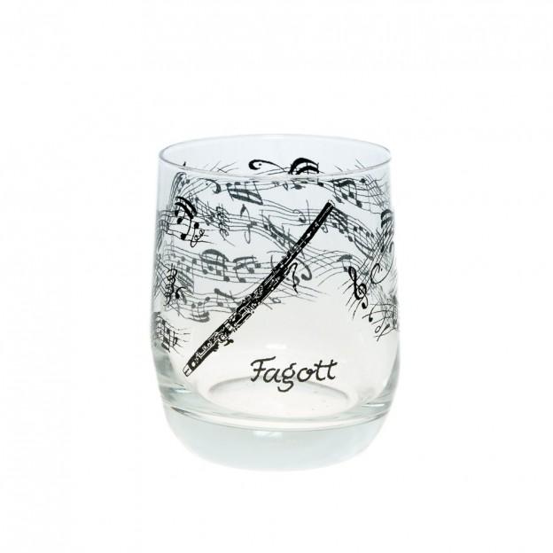 Vaso cristal fagot