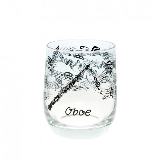 Vaso cristal oboe