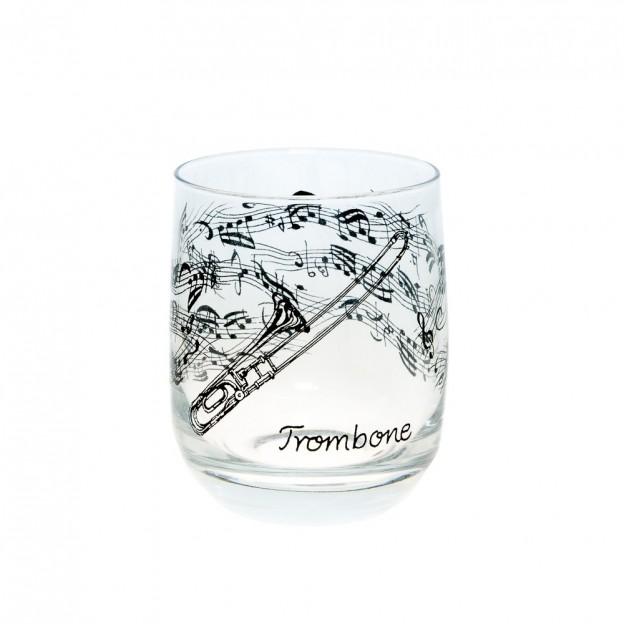 Vaso cristal trombón