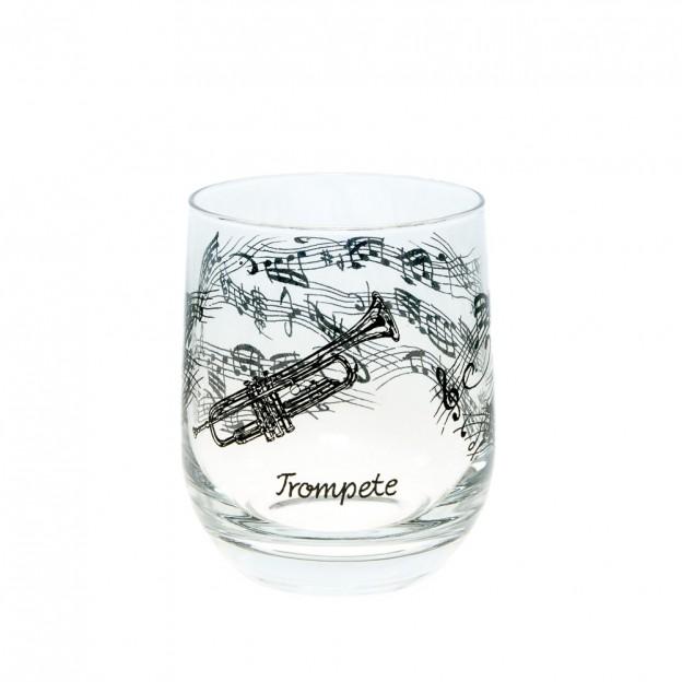 Vaso cristal trompeta