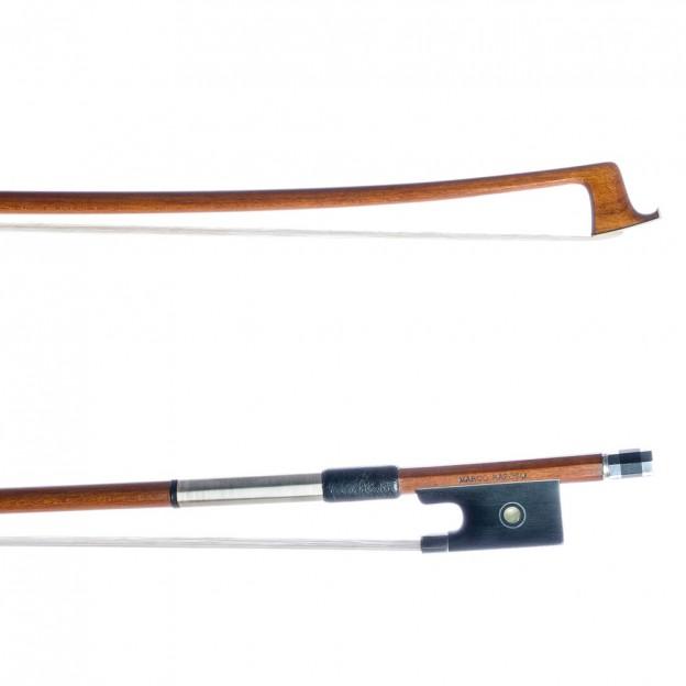 Arco violín Marco Raposo Pernambuco alta calidad 3/4 plata