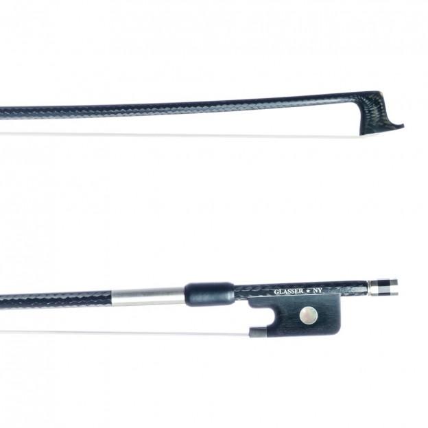 Arco viola Glasser 3005BCFSR vara redonda, plata