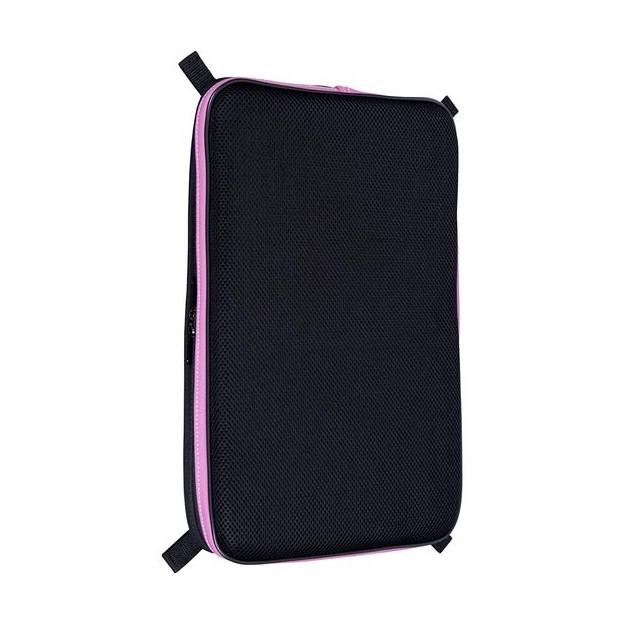 Bolsa acolchada violín Bam ET9100XPRO L'Étoile rectangular rosa