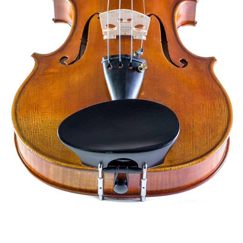 Accesorios - Barbada central para violín Flesh-Flat de madera 4/4-3/4