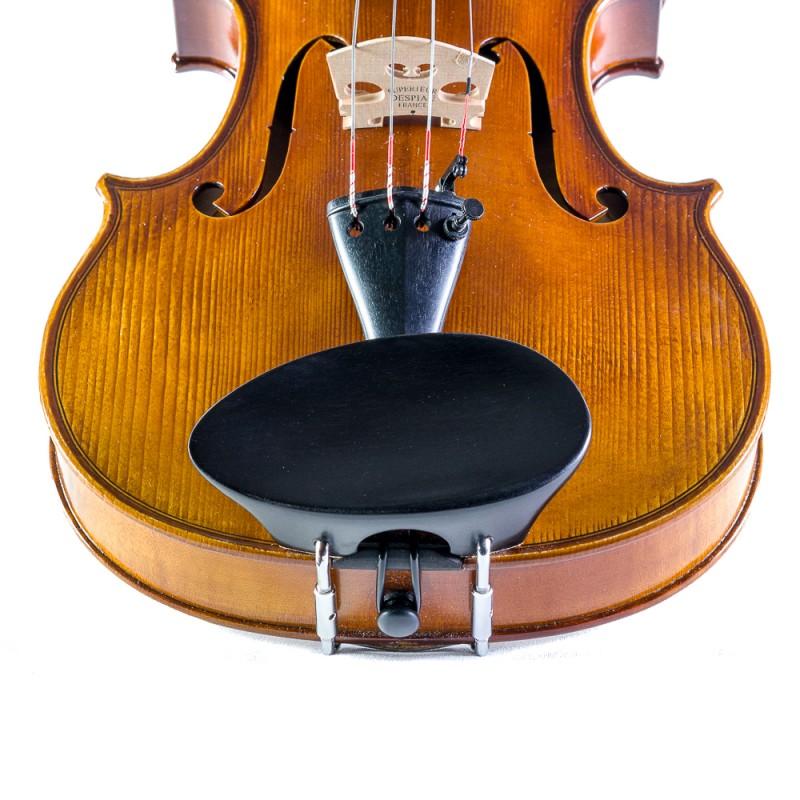 Accesorios - Barbada central para violín Flesh-Flat 4/4-3/4