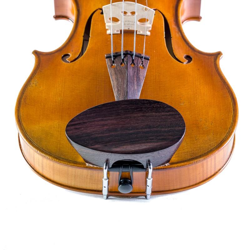 Accesorios - Barbada central para violín Flesh-Flat palisandro 4/4-3/4