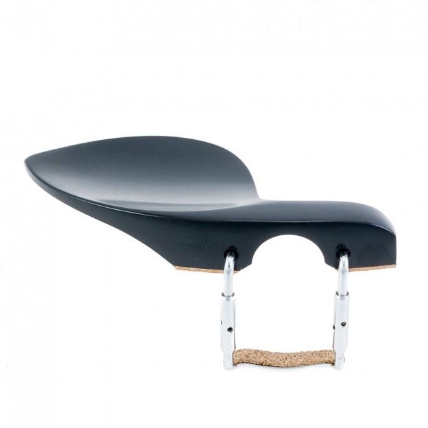 Barbada lateral sobre cordal para violín Guarneri ébano