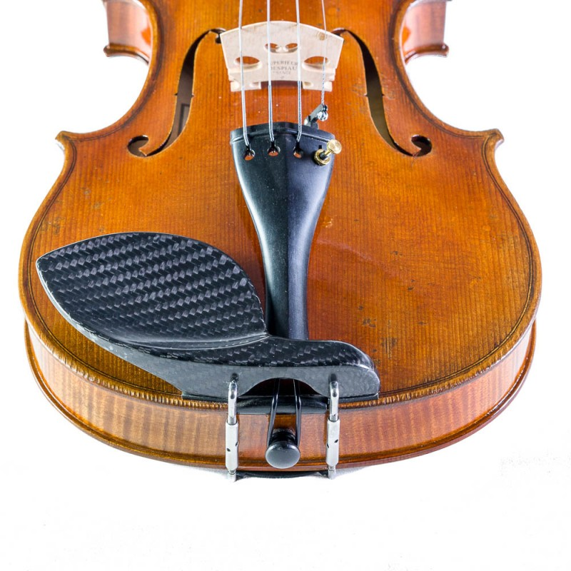 Barbada violín Guarneri lateral sobre cordal carbono 4/4