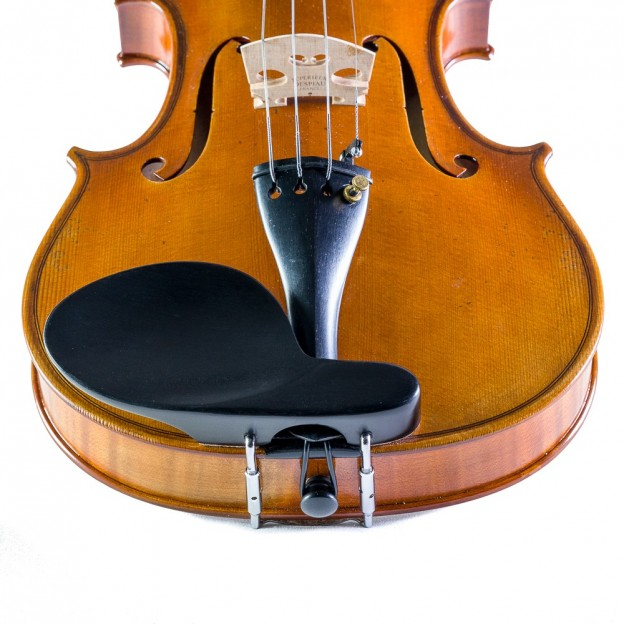 Barbada lateral sobre cordal para violín ébano