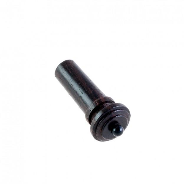 Botón violín palisandro modelo Hill pin negro 4/4