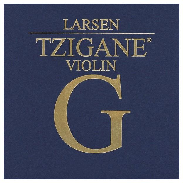 Cuerda violín Larsen Tzigane 4ª Sol Strong
