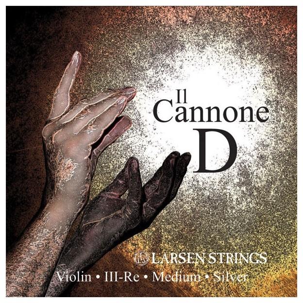 Cuerda violín Larsen Il Canone 3ª Re Medium