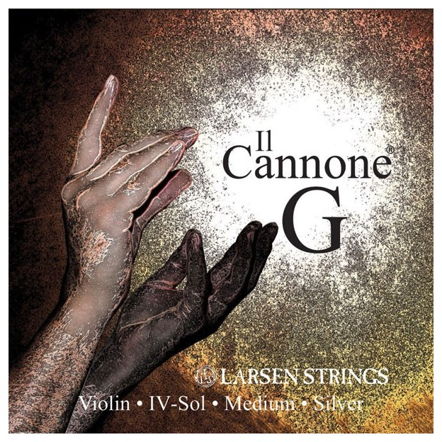 Cuerda violín Larsen Il Canone 4ª Sol Medium
