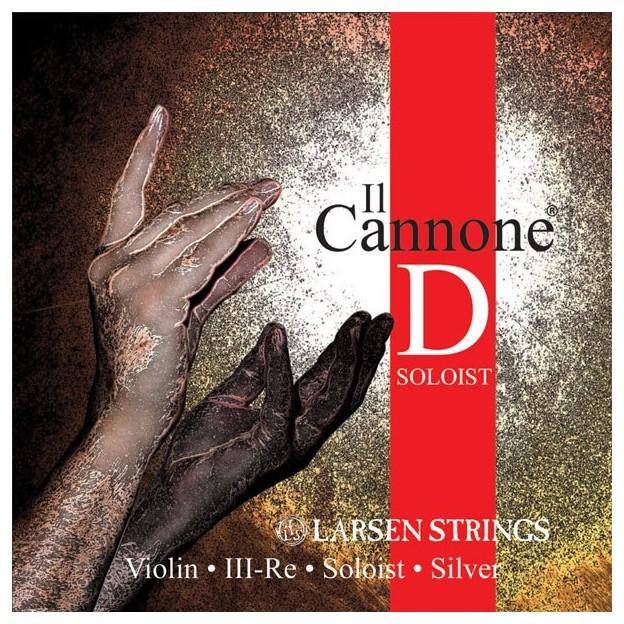 Cuerda violín Larsen Il Canone Soloist 3ª Re Medium