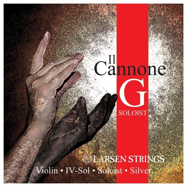 Cuerda violín Larsen Il Canone Soloist 4ª Sol Medium