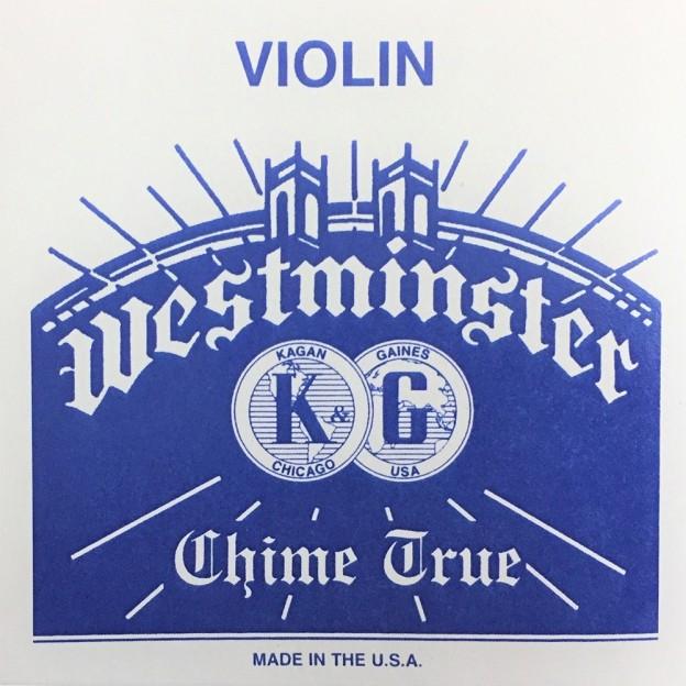 Cuerda violín Westminster 1ª Mi lazo 26 Medium