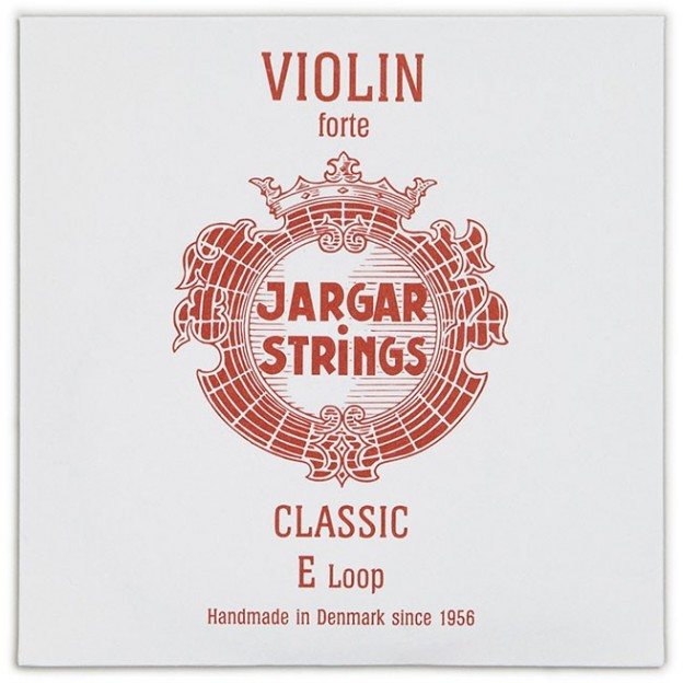 Cuerda violín Jargar 1ª Mi lazo Forte