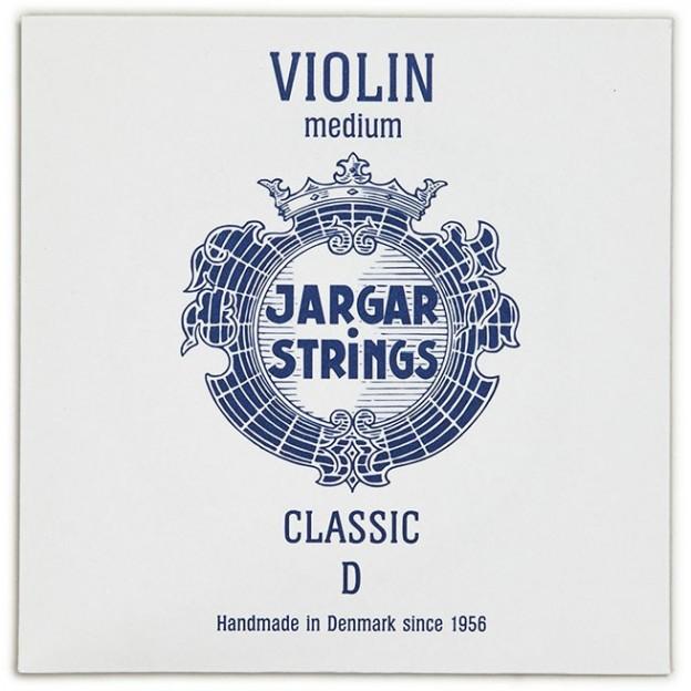 Cuerda violín Jargar 3ª Re Medium