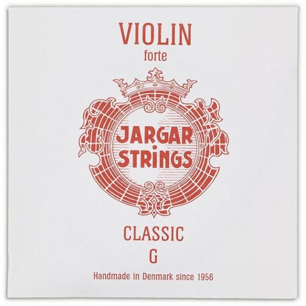 Cuerda violín Jargar 4ª Sol Forte