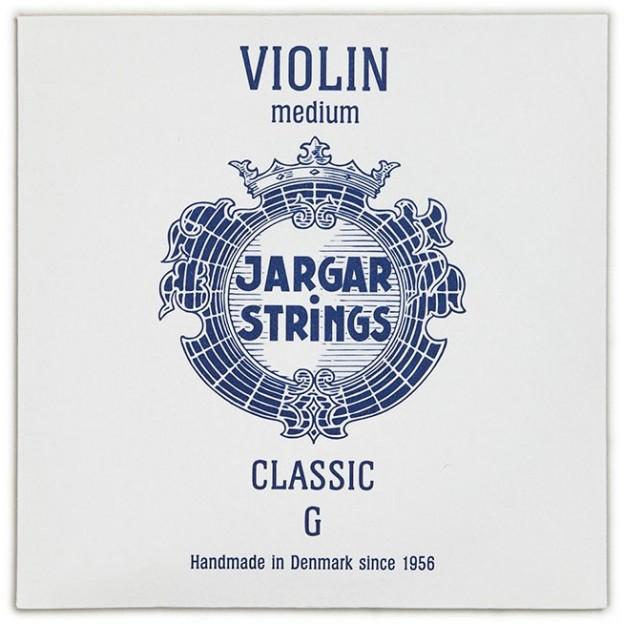 Cuerda violín Jargar 4ª Sol Medium