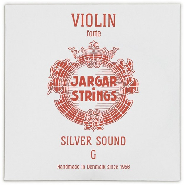 Cuerda violín Jargar 4ª Sol plata Forte