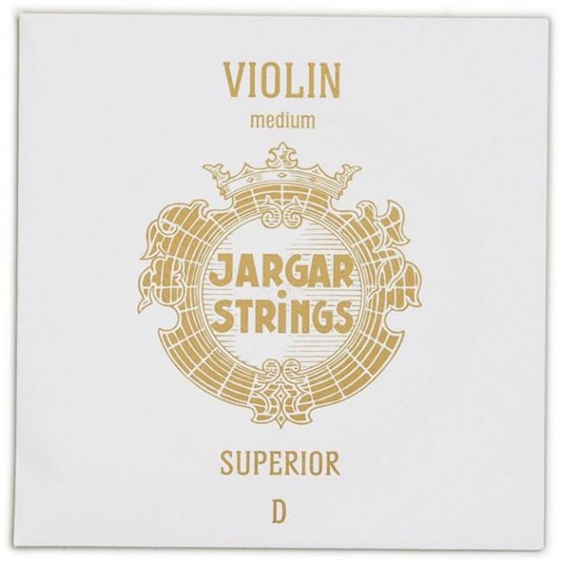 """Cuerda violín Jargar 3ª Re """"Superior"""" Medium"""