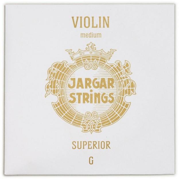 """Cuerda violín Jargar 4ª Sol """"Superior"""" Medium"""