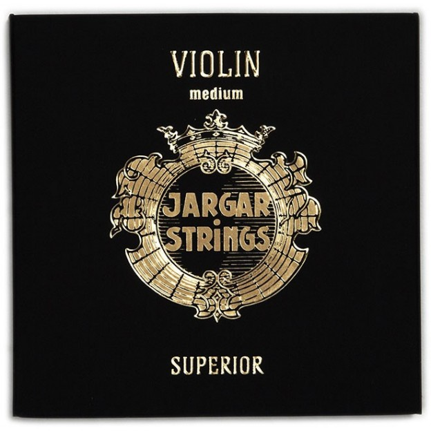 """Set de cuerdas violín Jargar """"Superior"""" Medium"""