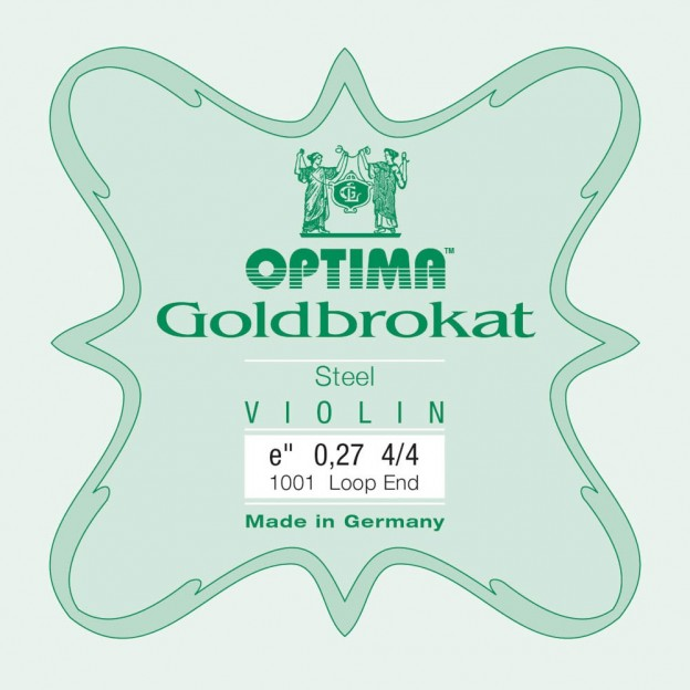 Cuerda violín Optima Goldbrokat 1001 1ª Mi lazo 0.27 Hard