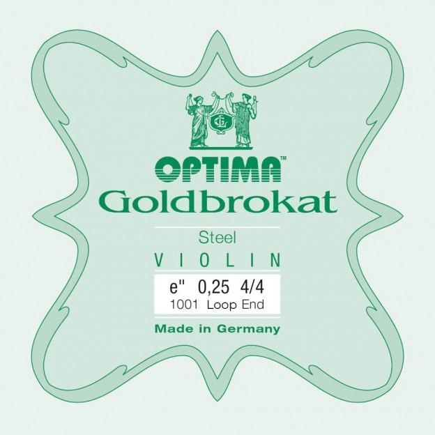 Cuerda violín Optima Goldbrokat 1001 1ª Mi lazo 0.25 Light