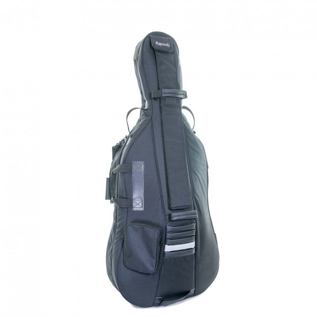 Funda cello Rapsody ACRB 4/4 negra