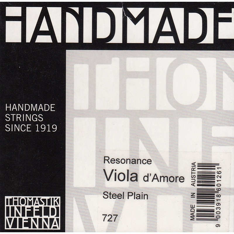 Cuerdas - Cuerda viola d'Amore Thomastik Resonance 721 2ª La
