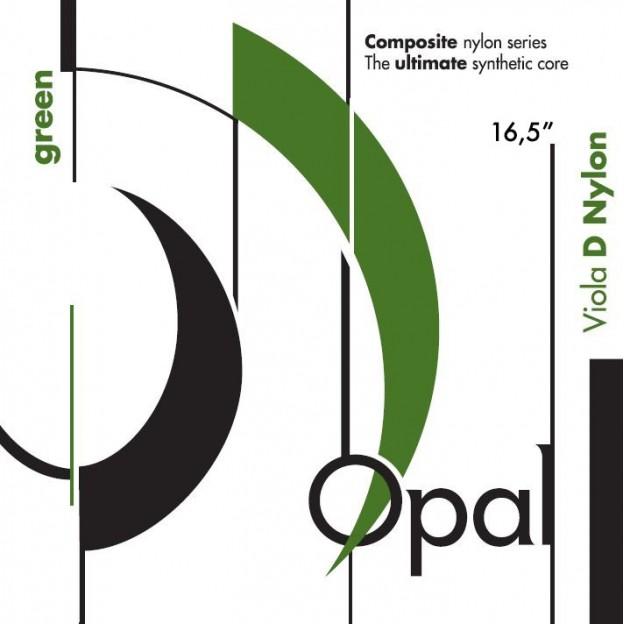 Cuerda viola For-Tune Opal Green 2ª Re Nylon-Plata