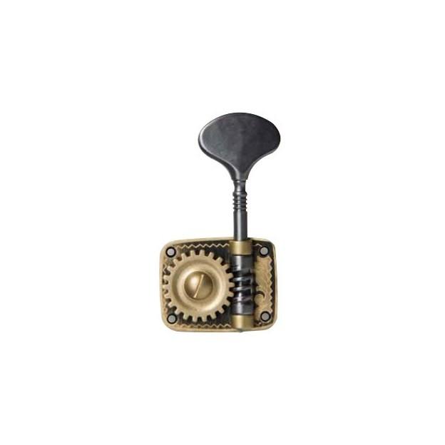 Clavijero para contrabajo Rubner 4 piezas individuales 140-114-005-2 dorado/negro